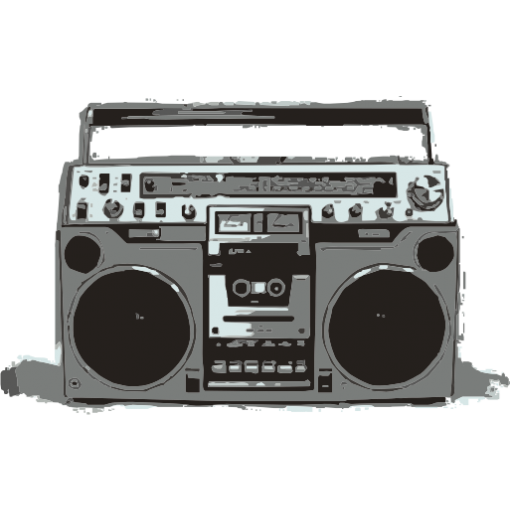 Old School Boombox Kids T-Shirt