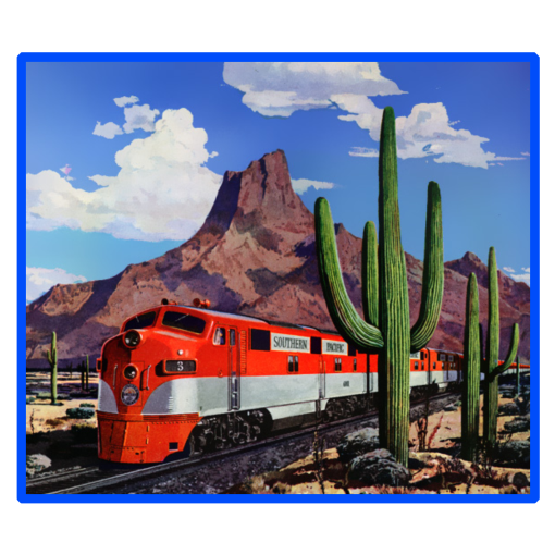 Desert Train Kids T-Shirt