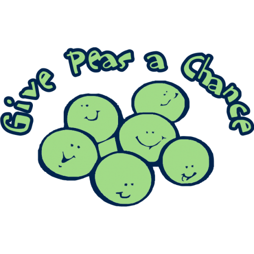 Give Peas a Chance Kids T-Shirt