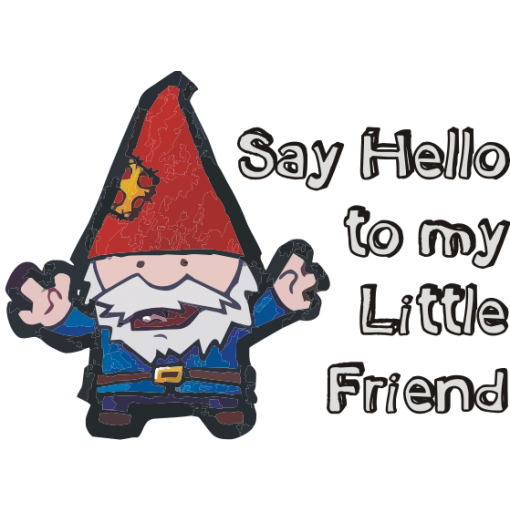 Say Hello to My Little Friend Baby One-Piece, Toddler T-Shirt