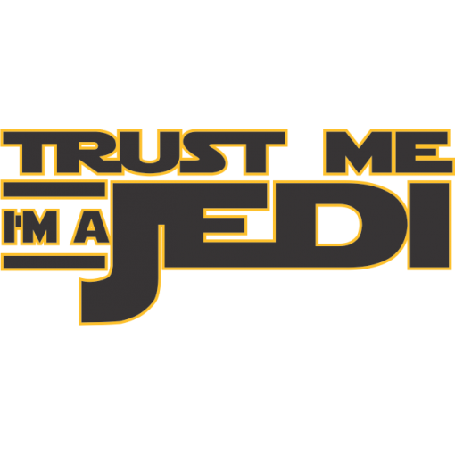 Trust Me I'm A Jedi Baby One-Piece, Star Wars Toddler T-Shirt