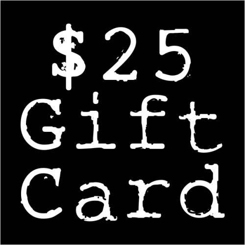 Home • $25 Gi... $25 Gift Card