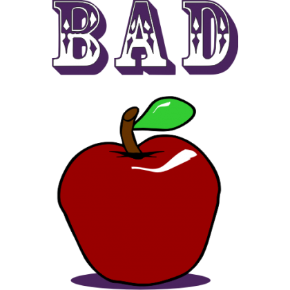 Bad Apple Baby One-Piece, Toddler T-Shirt