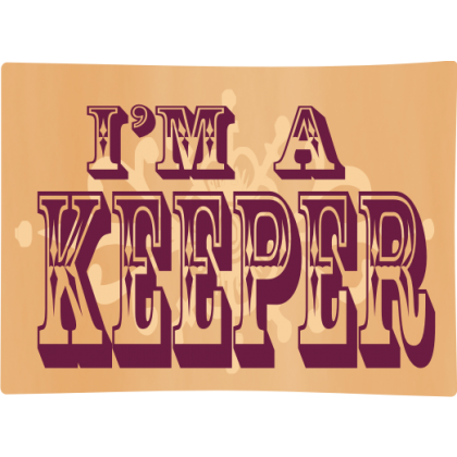 I'm A Keeper Baby One-Piece, Toddler T-Shirt