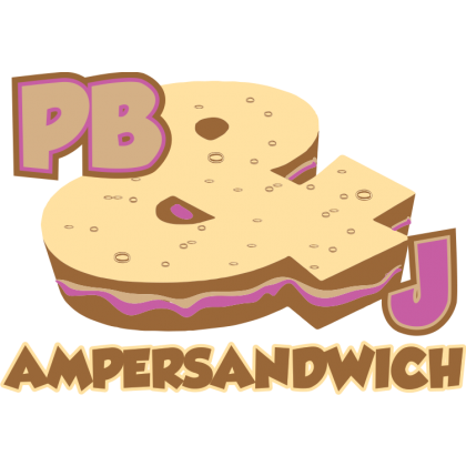 PB&J Ampersandwich Kids T-Shirt