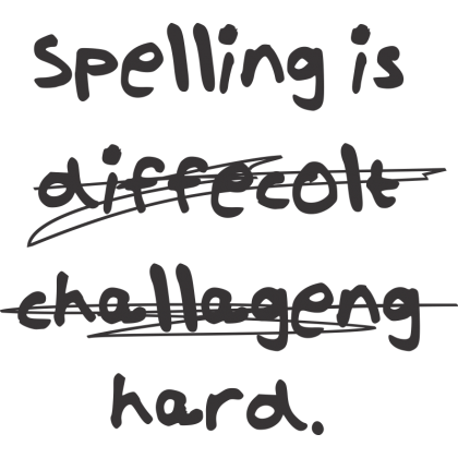 Spelling Is...Hard Kids T-Shirt