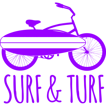 Surf & Turf One-Piece, Toddler T-Shirt