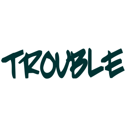 Trouble Baby One-Piece, Toddler T-Shirt