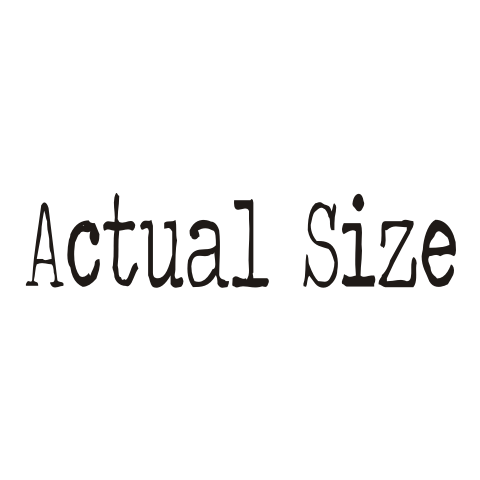 Actual Size Baby One-Piece, Toddler T-Shirt
