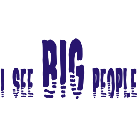 I See Big People Kids T-Shirt