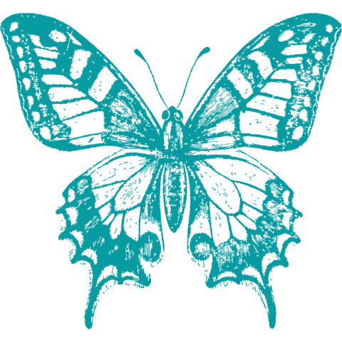 Swallowtail Butterfly Kids T-Shirt