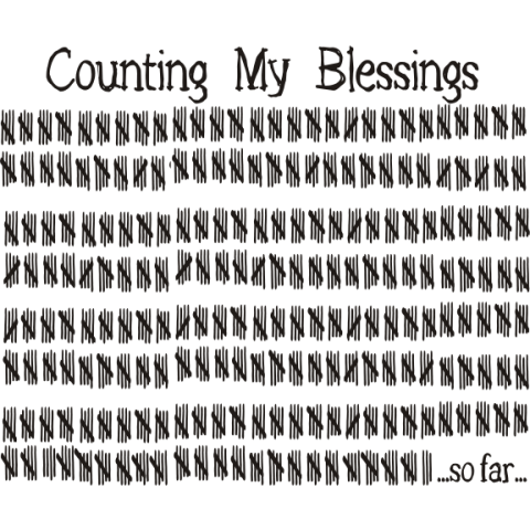 Counting My Blessings Kids T-Shirt
