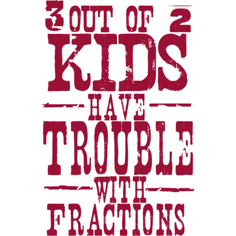 3 out of 2??? Kids T-Shirt