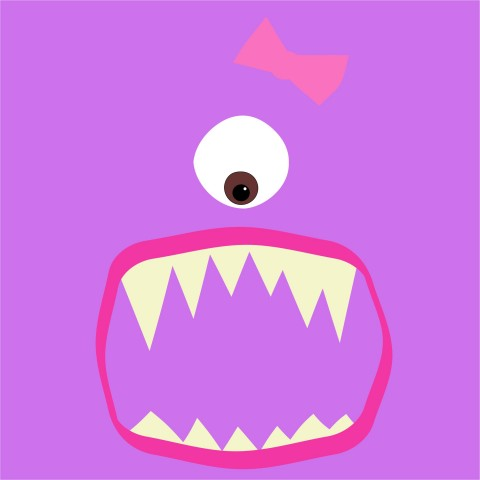 My Pretty Monster Baby One-Piece, Toddler T-Shirt