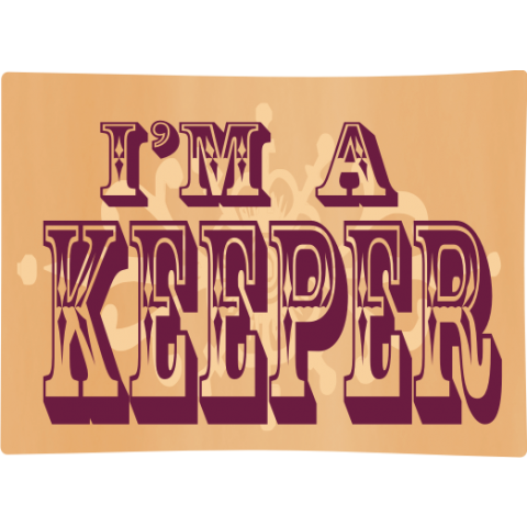I'm A Keeper Kids T-Shirt
