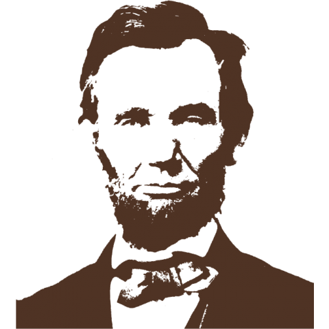 Abraham Lincoln Kids T-Shirt