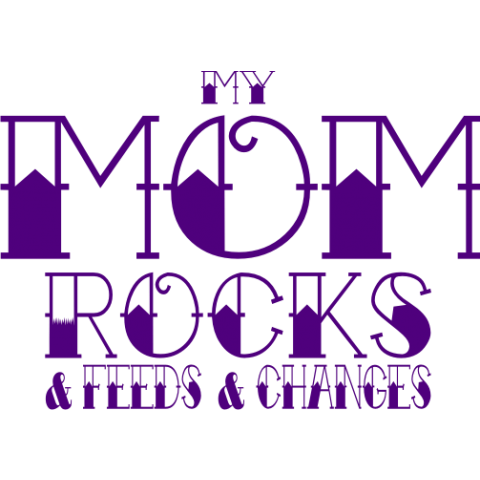 My Mom Rocks Kids T-Shirt