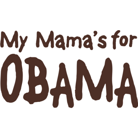 My Mama's For Obama Kids T-Shirt