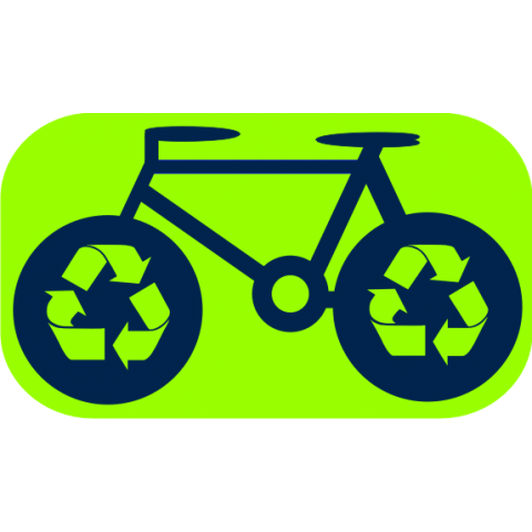 Recycle Bike Kids T-Shirt