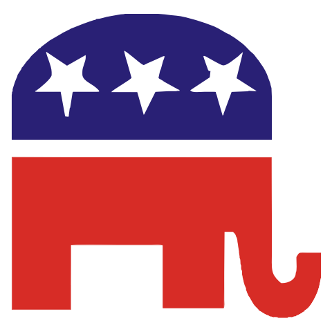 Republican Elephant Kids T-Shirt