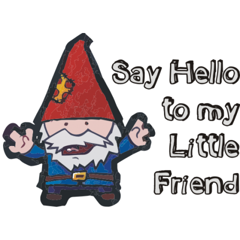 Say Hello to My Little Friend Kids T-Shirt