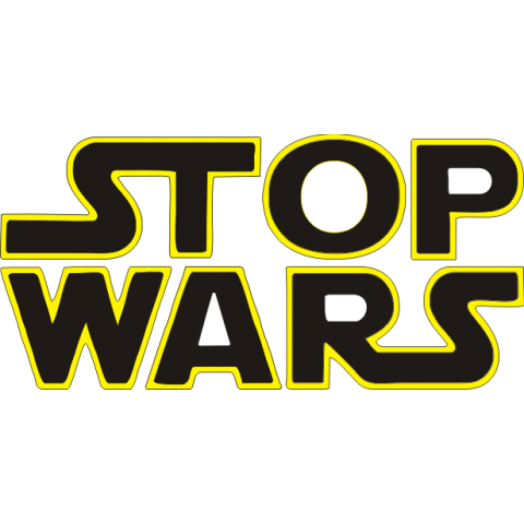 Stop Wars Kids T-Shirt