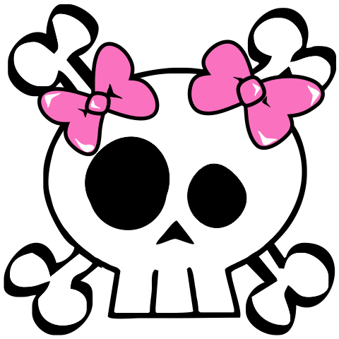 A Sweet Skull & Crossbones Kids T-Shirt