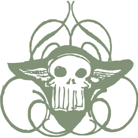 Winged Skull Baby One-Piece, Toddler T-Shirt